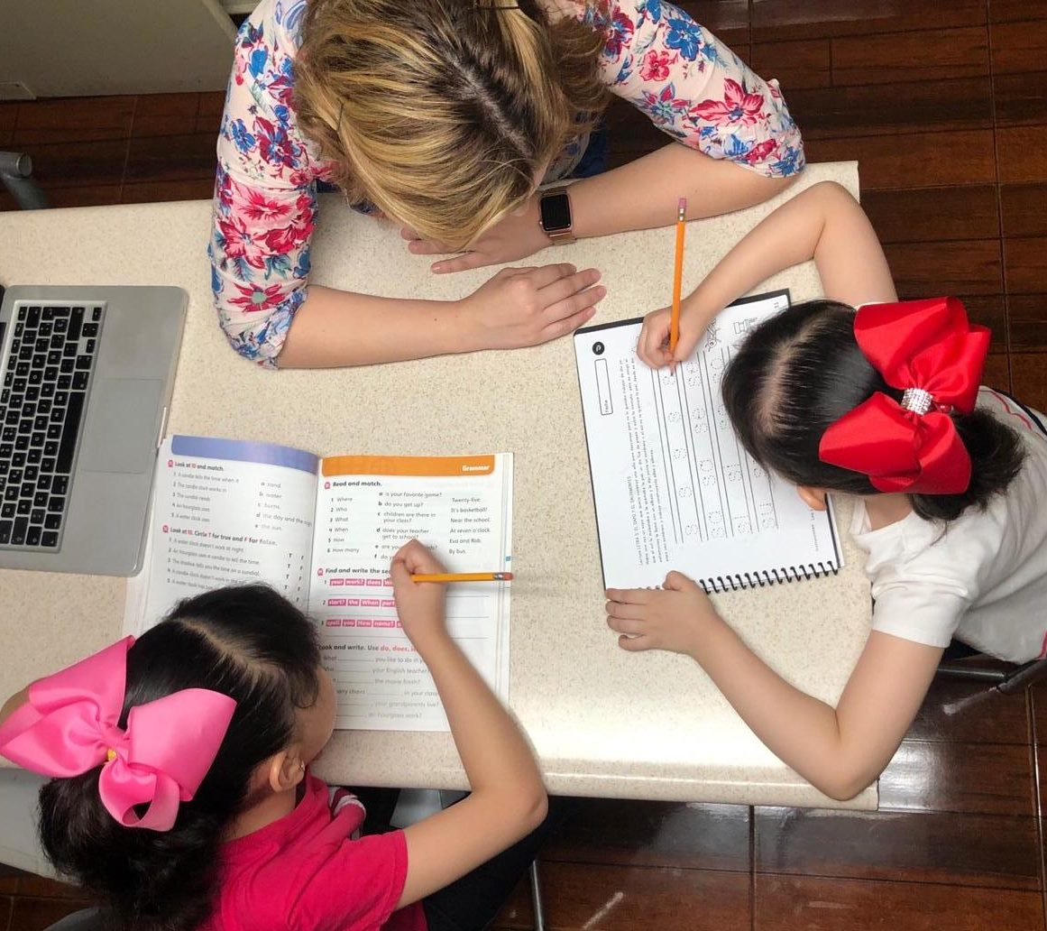 Homeschooling Senda COVID